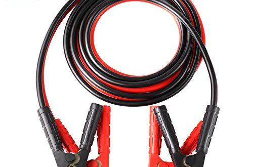 24 Volt mit /Überspannungsschutz MCTECH 4m Starthilfekabel Starterkabel Set /Überbr/ückungskabel KFZ LKW PKW Batterie f/ür12 Volt